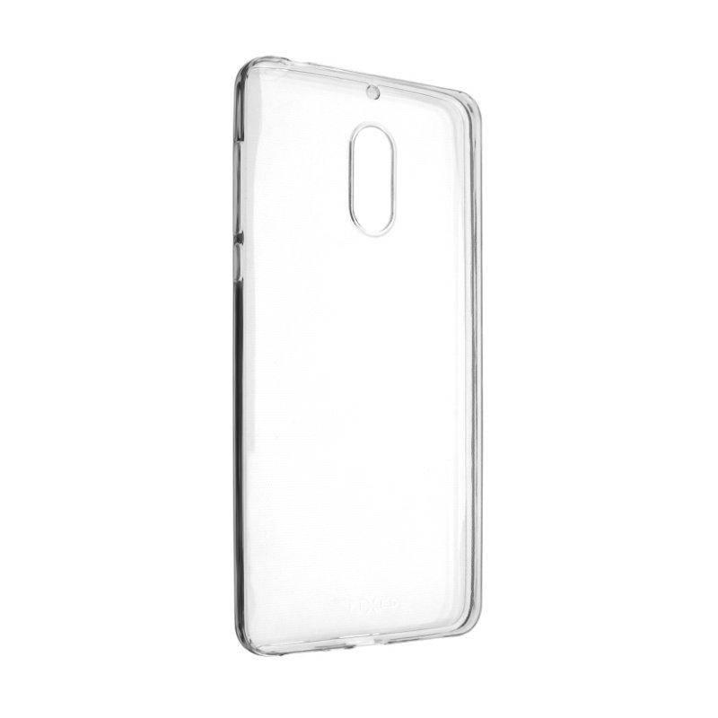 Kryt na mobil FIXED pro Nokia 6, 0,5 mm priehľadný