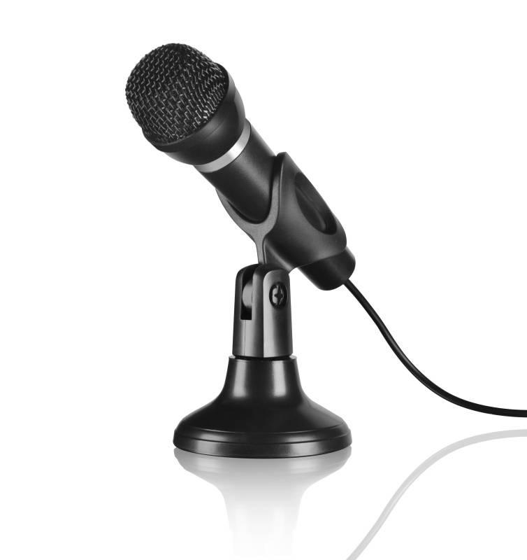 Mikrofon Speed Link Capo Desk & Hand (SL-8703-BK) černý