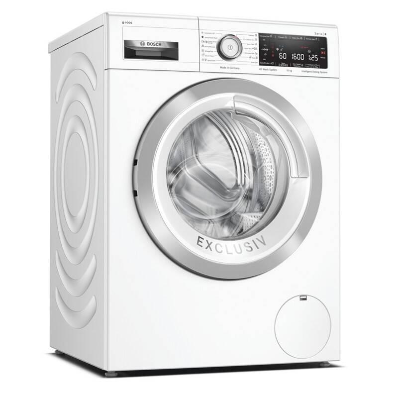 Práčka Bosch Serie   8 WAX32KH0BY biela + Extra zľava 10 %   kód 10HOR2024 + Doprava zadarmo