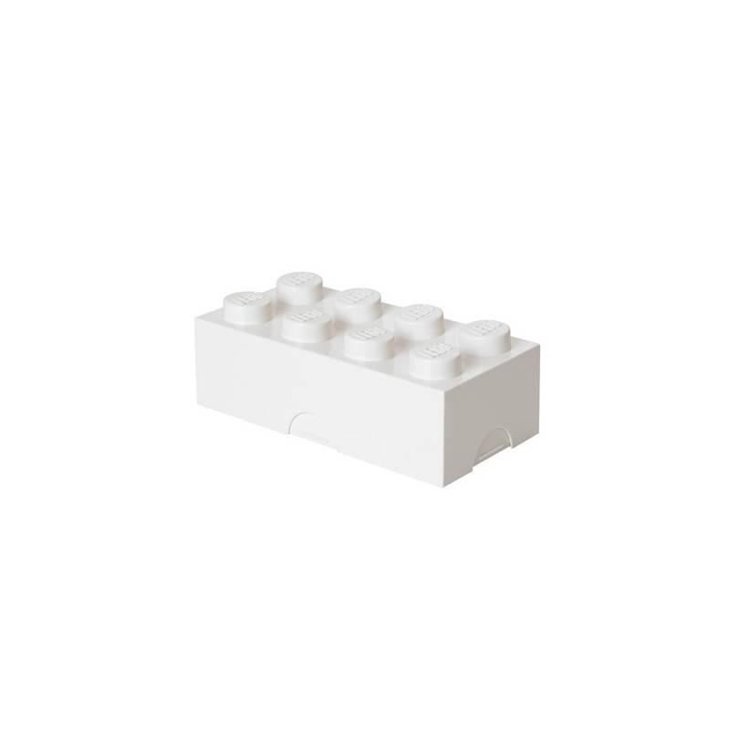 Box na desiatu LEGO® 100 x 200 x 75 mm biely + Doprava zadarmo