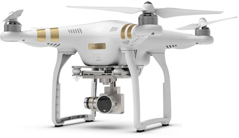 Dron DJI Phantom 3 Professional, 4K Ultra HD kamera (DJI0322) (DJI0322) biely + Doprava zadarmo
