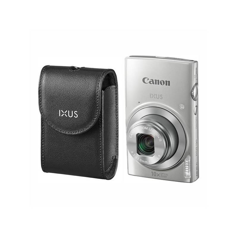 Digitálny fotoaparát Canon IXUS 190 + orig.pouzdro (1797C010) strieborný