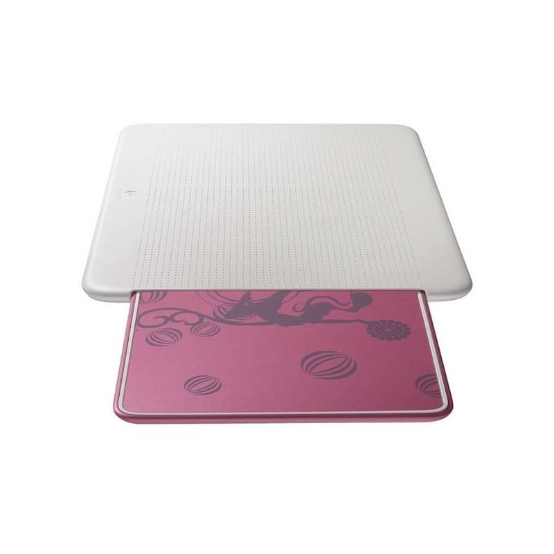 402a1f7e0 Chladiaca podložka pre notebooky Logitech Lapdesk N315 Pink Balance  (939-000338) biela/ružová