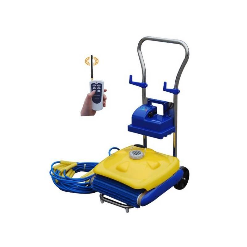 Vysávač bazénový Master 200 RC modré/žlté + Doprava zadarmo