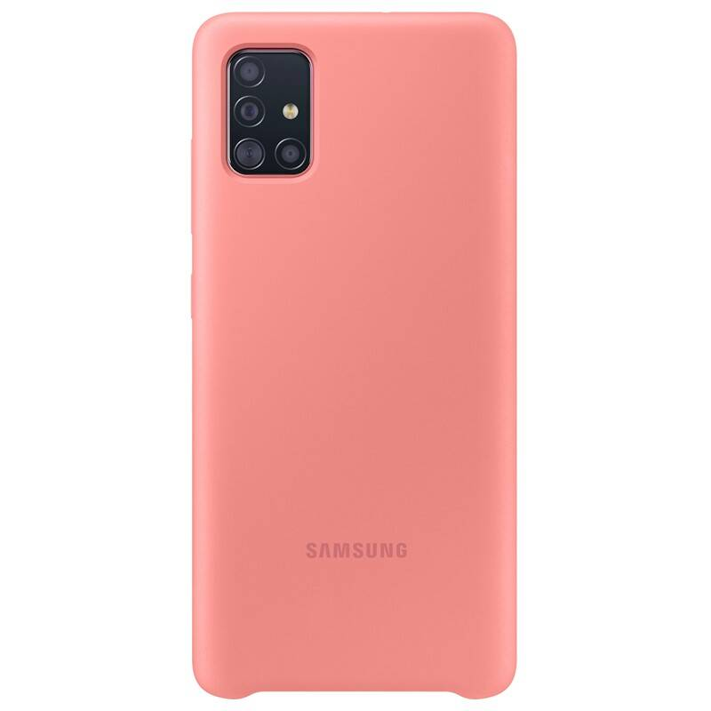Kryt na mobil Samsung Silicon Cover pro Galaxy A51 (EF-PA515TPEGEU) ružový