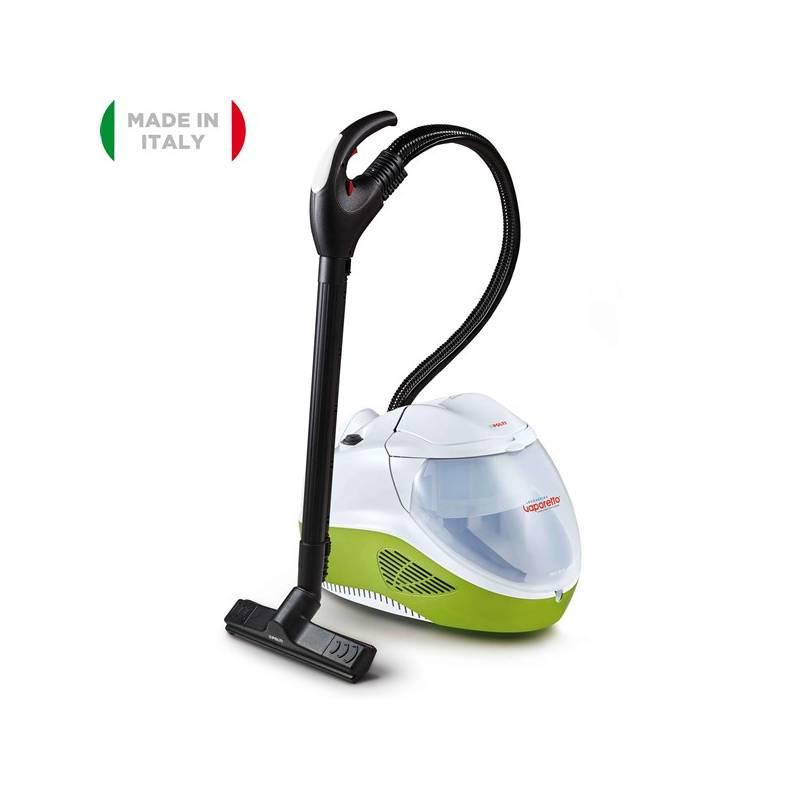 Parný vysávač Polti VAPORETTO LECOASPIRA FAV80 TURBO INTELLIGENCE biely/zelený Žehlička pro parní čističe Polti FERRO PRO 700 SERIES ( FOR LECOASPIRA ) (zdarma) + Doprava zadarmo