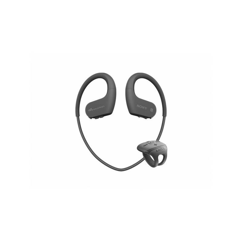 MP3 prehrávač Sony NW-WS625B čierny + Doprava zadarmo