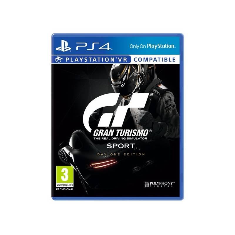 Hra Sony PlayStation 4 Gran Turismo Sport + Digitální bonusový balíček (PS719832652)