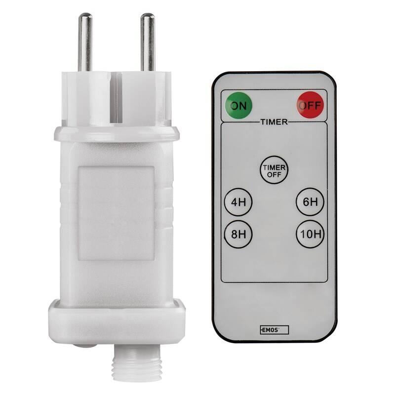 Sieťový adaptér EMOS pro vánoční spojovací osvětlení Standard/Profi, venkovní i vnitřní, ovladač (D1ZW02)