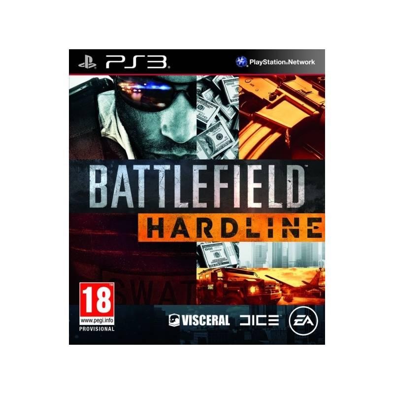Hra EA PlayStation 3 Battlefield Hardline (EAP3020600)