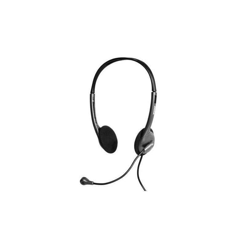 Headset PORT CONNECT Stereo 3,5 mm jack (901603) čierny