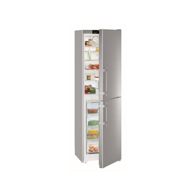 Kombinácia chladničky s mrazničkou Liebherr Comfort CNef 3915 nerez + Doprava zadarmo