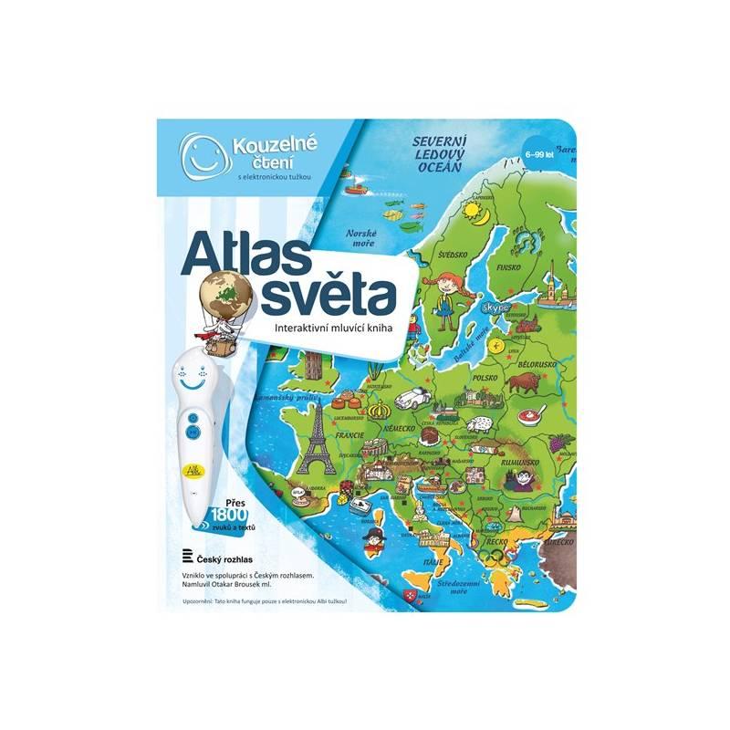 Kúzelné čítanie Albi Kniha Atlas světa