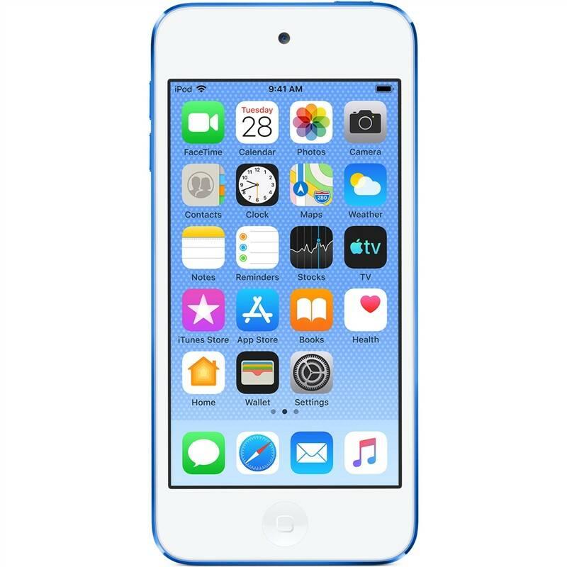 MP3 prehrávač Apple iPod touch 128GB (MVJ32HC/A) modrý