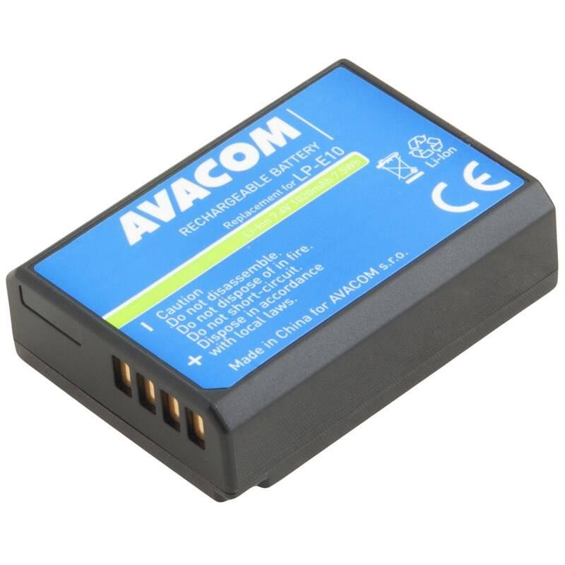 Batéria Avacom Canon LP-E10 Li-Ion 7.4V 1020mAh 7.5Wh (DICA-LP10-B1020)