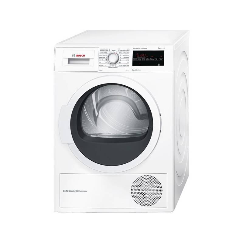 Sušička bielizne Bosch WTW87467CS biela Čistič oken ETA Aquarelo 0262 90000 (zdarma) + Doprava zadarmo