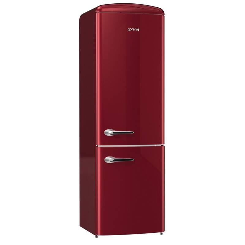 Kombinácia chladničky s mrazničkou Gorenje Retro ORK193R + Extra zľava 10 % | kód 10HOR2020 + Doprava zadarmo