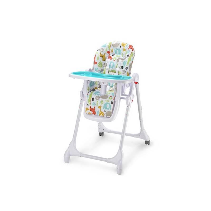 Jedálenská stolička Petite&Mars Zola modrá + Doprava zadarmo