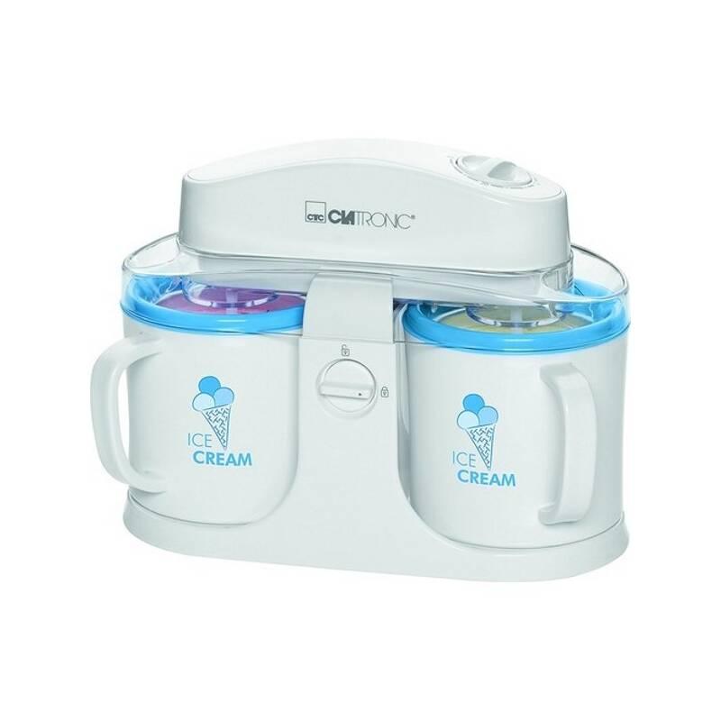 Zmrzlinovač Clatronic ICM 3650 biely/modrý