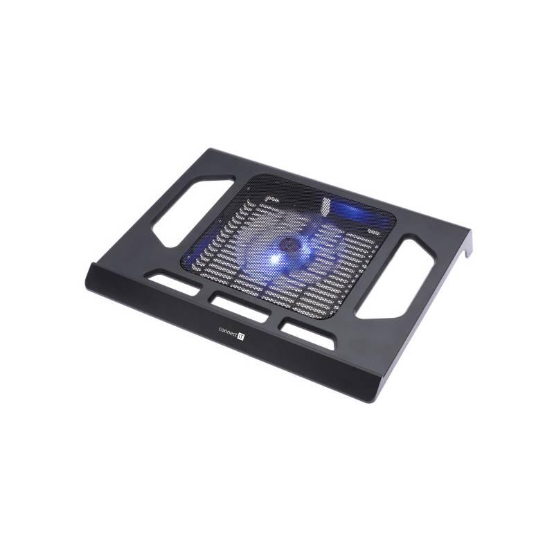 """Chladiaca podložka pre notebooky Connect IT Breeze pro 17"""" (CI-438) čierna"""