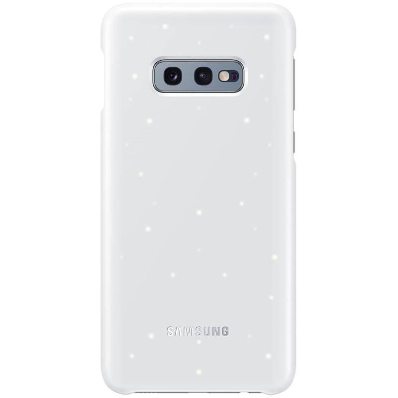 Kryt na mobil Samsung LED pro Galaxy S10e (EF-KG970CWEGWW) biely