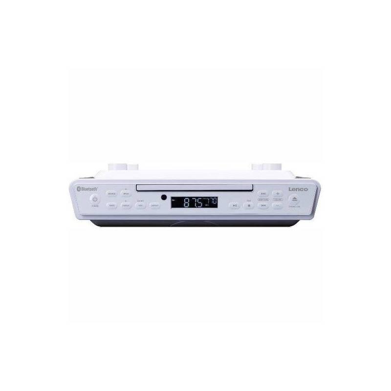 Radiopřijímač s CD Lenco KCR-150 bílý