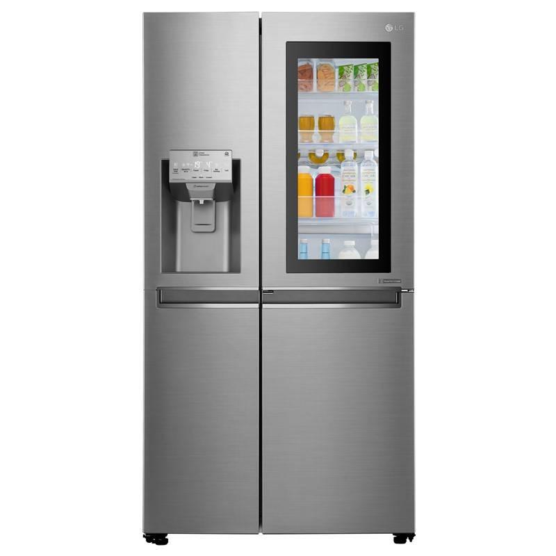 Americká lednice LG GSI961PZAZ nerez + LG 10 let záruka na Lineární kompresor
