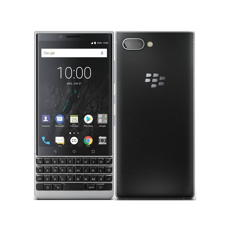 Mobilný telefón BlackBerry Key 2 (PRD-63824-013) strieborný Software F-Secure SAFE, 3 zařízení / 6 měsíců (zdarma) + Doprava zadarmo