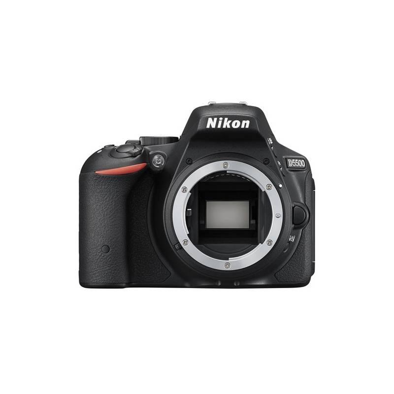 Digitálny fotoaparát Nikon D5500 tělo čierny + Doprava zadarmo