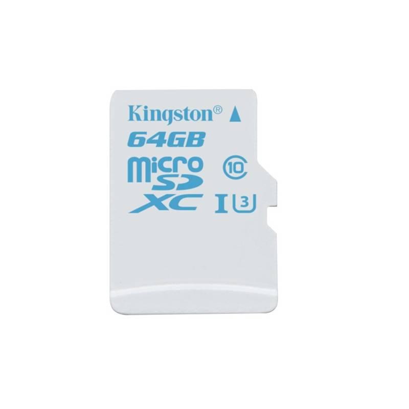 Pamäťová karta Kingston MicroSDXC 64GB UHS-I U3 (90R/45W) (SDCAC/64GBSP)