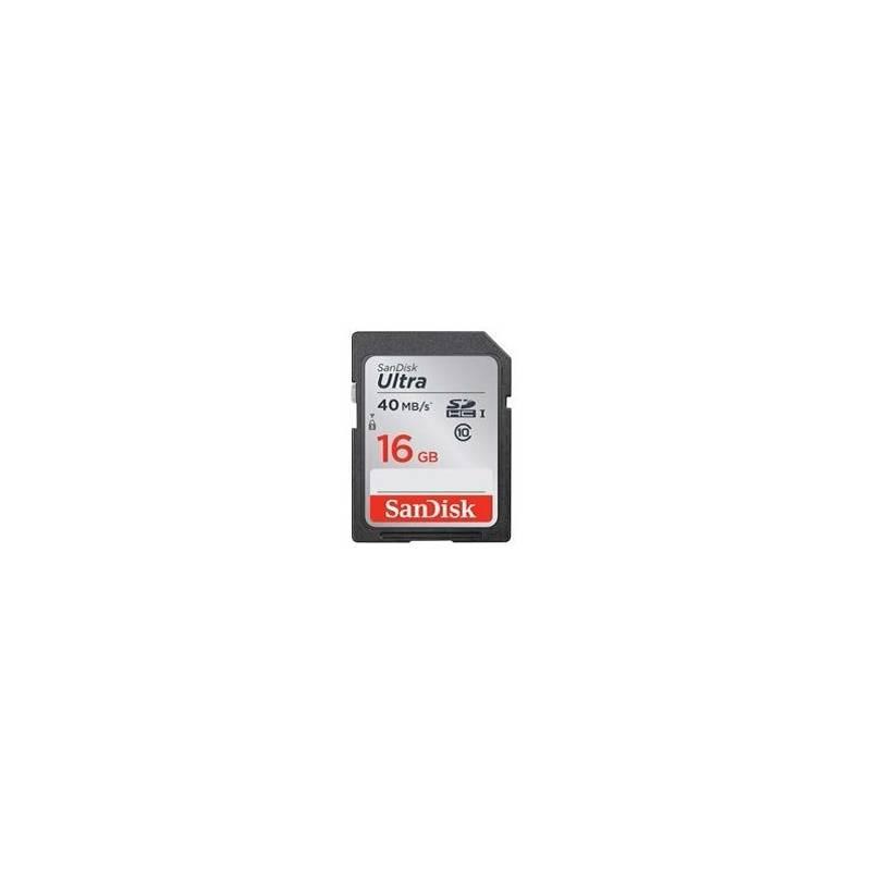 Pamäťová karta Sandisk SDHC Ultra 16GB UHS-I U1 (40MB/s) (SDSDUN-016G-G46)