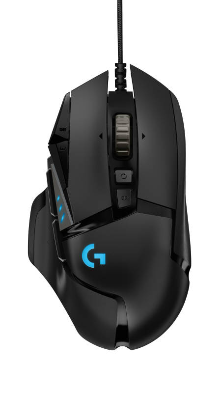 Myš Logitech G502 HERO High Performance (910-005470) čierna
