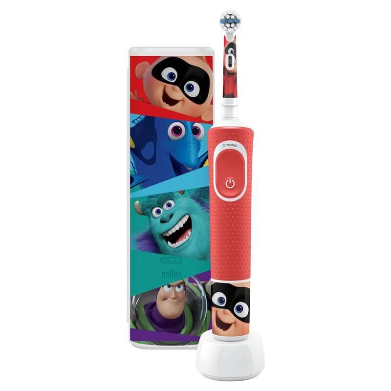 Zubná kefka Oral-B Vitality Kids Pixar + cestovní pouzdro + Extra zľava 20 %