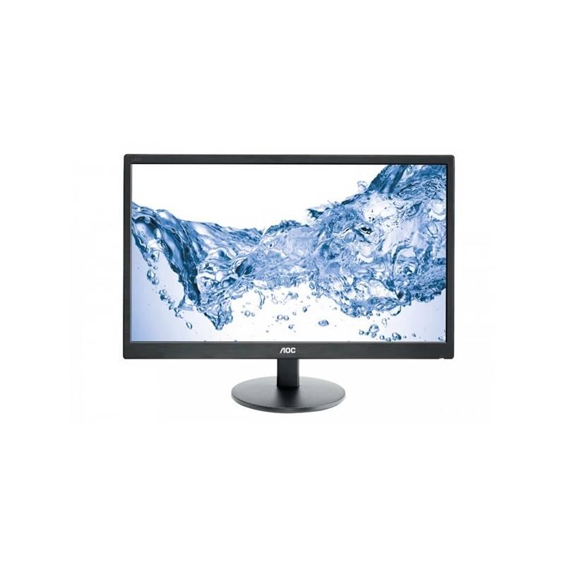 Monitor AOC E2470SWHE (E2470SWHE) čierny