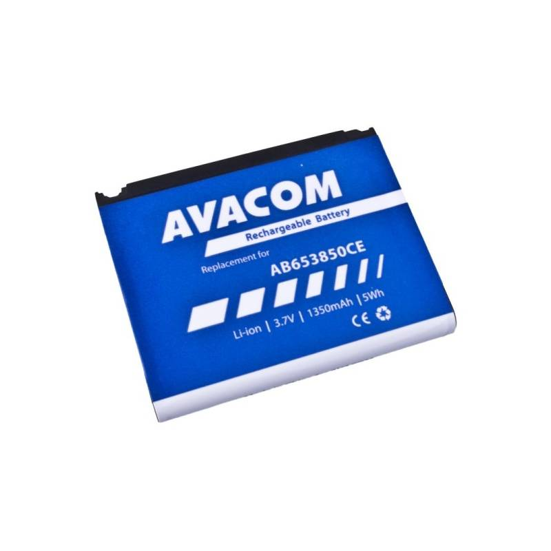 Batéria Avacom pro Samsung SGH-i900, Li-Ion 3,7V 1350mAh (náhrada AB653850CE) (GSSA-i900-S1350A)