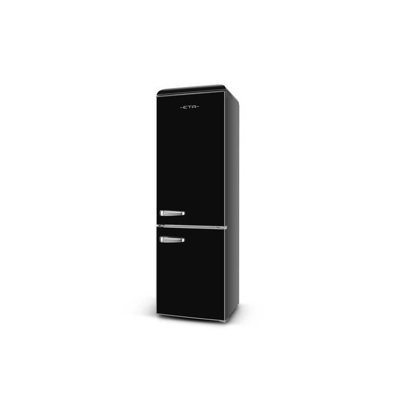 Kombinácia chladničky s mrazničkou ETA Storio 237990020 čierna + Doprava zadarmo