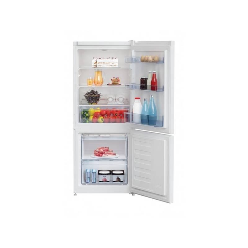 Kombinácia chladničky s mrazničkou Beko RCSA 210 K20W biela
