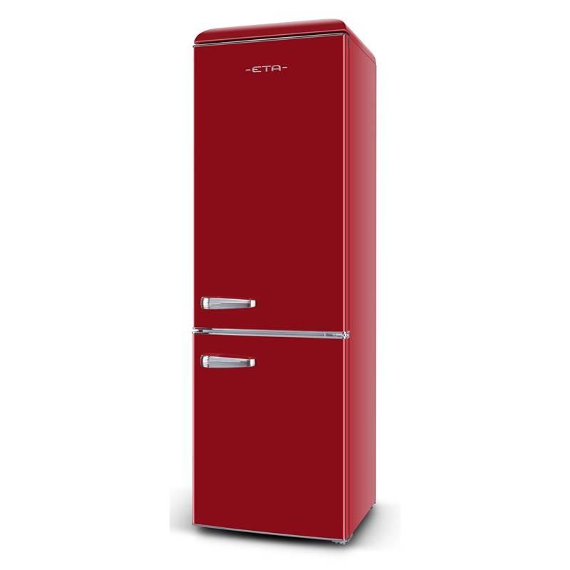 Kombinácia chladničky s mrazničkou ETA Storio 2531 90030E červená + Doprava zadarmo