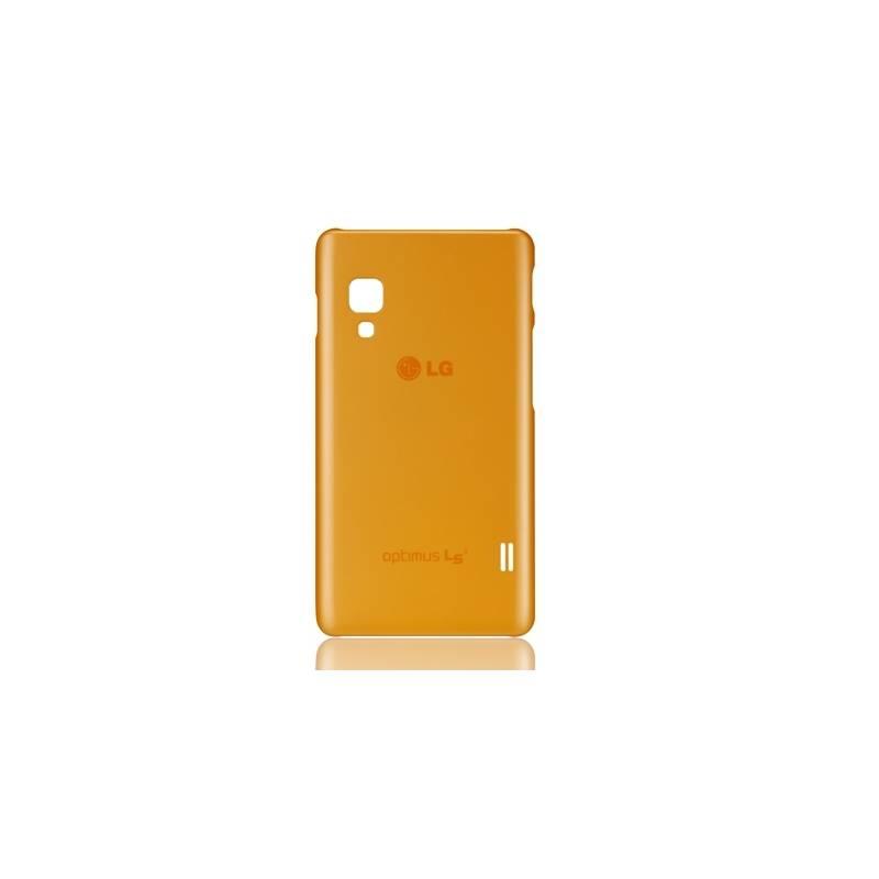 Kryt na mobil LG Silicon Case pro L5 II (CCH-210.AGEUOR) oranžový