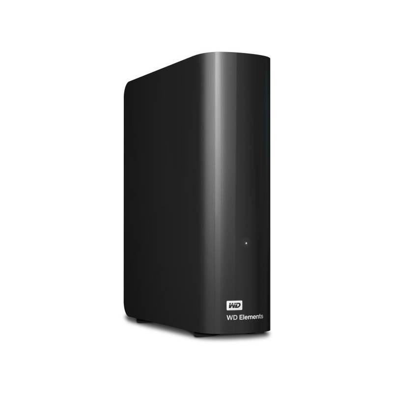 "Externý pevný disk 3,5"" Western Digital Elements Desktop 3TB (WDBWLG0030HBK-EESN) čierny"