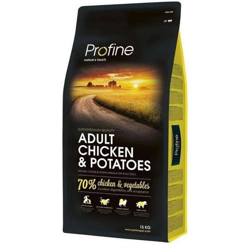 Granule PROFINE Adult Chicken & Potatoes 15kg