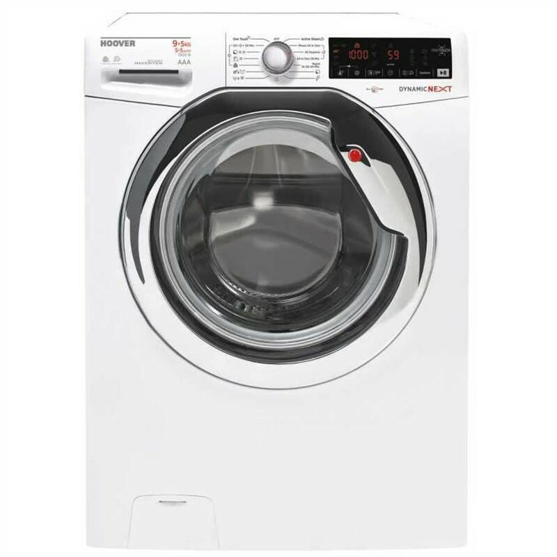 Pračka se sušičkou Hoover WDXOA40464AHC2-S bílá