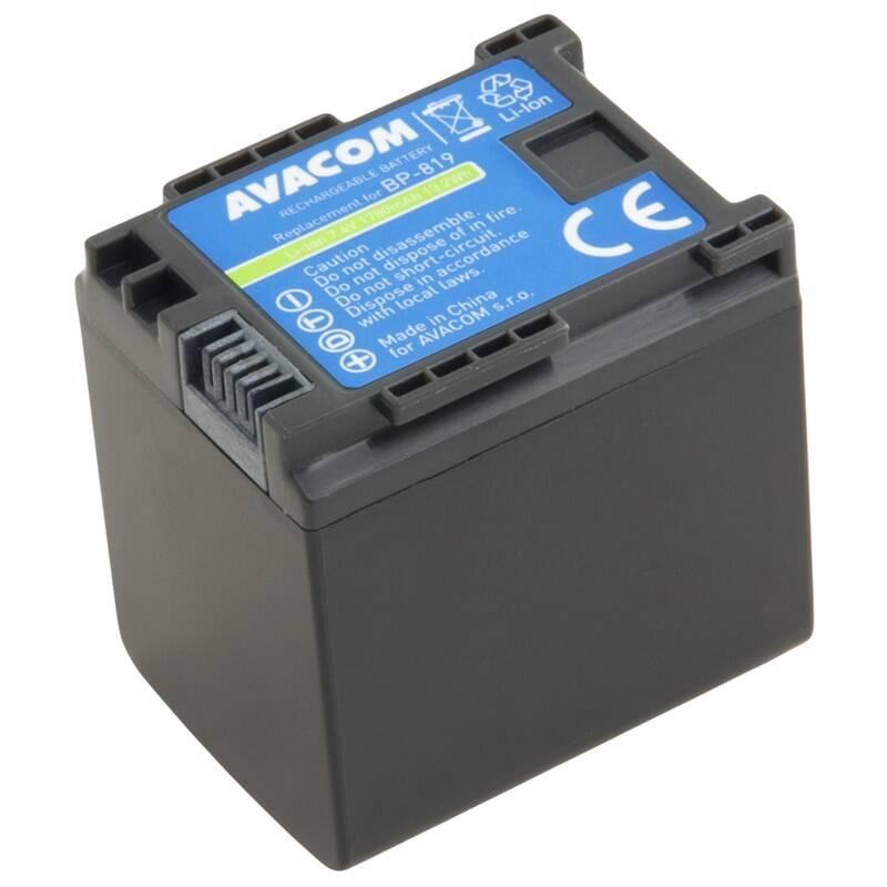 Batéria Avacom Canon BP-819 Li-Ion 7.4V 1780mAh 13.4Wh (VICA-819-B1780)