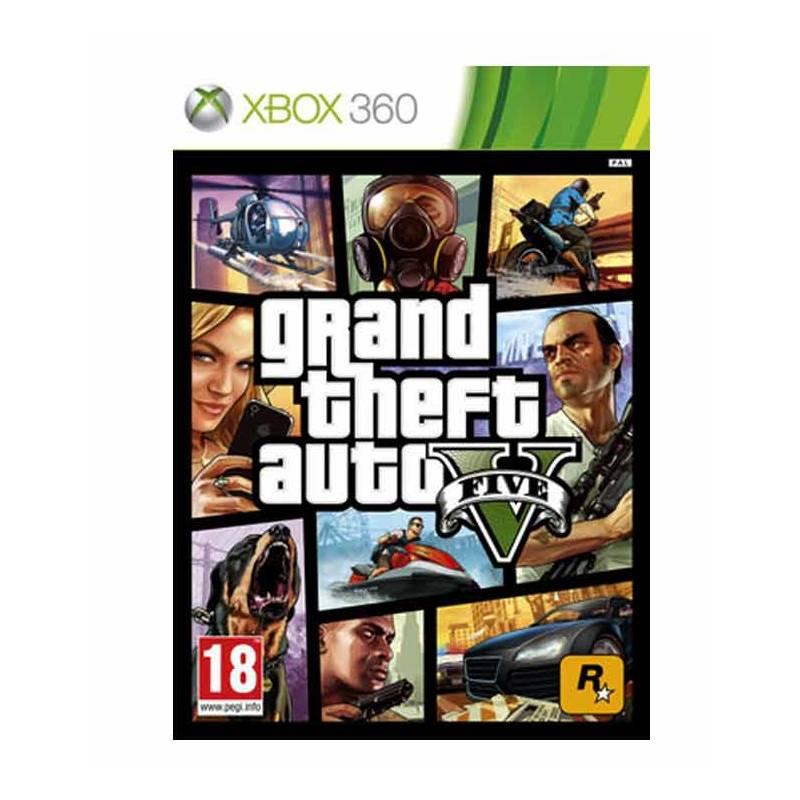 Hra RockStar Xbox 360 Grand Theft Auto V (427544) + Doprava zadarmo
