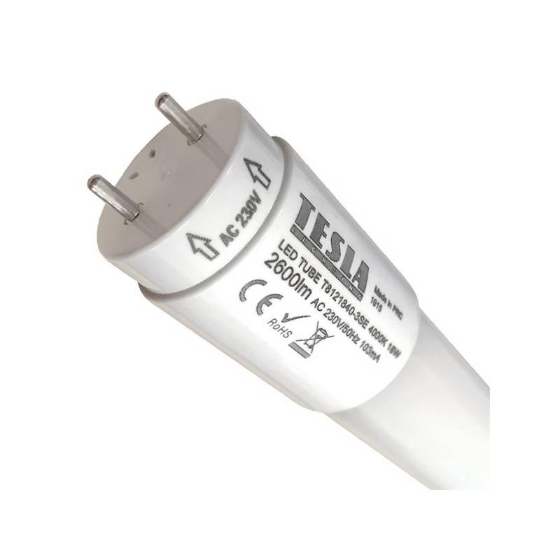 Žiarivka Tesla SMD, T8, 1200mm, 18W, 5000K, mléčná (T8121850-3SE)