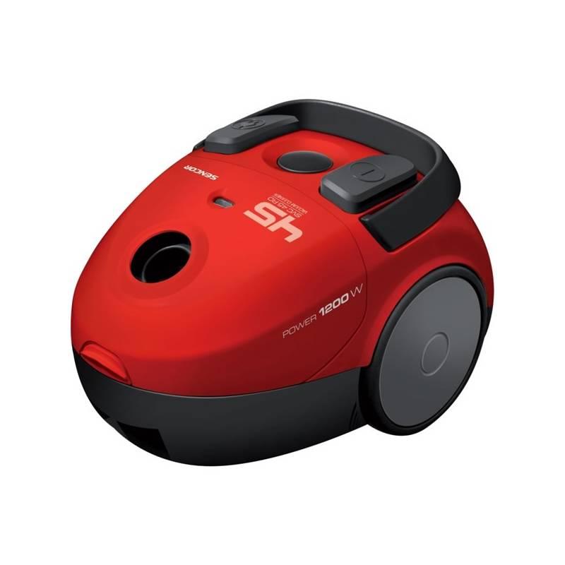 Podlahový vysavač Sencor SVC 45RD-EUE2 červený