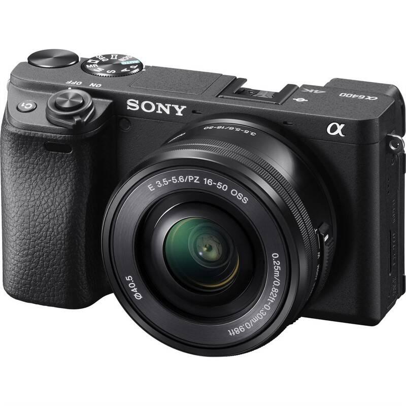 Digitálny fotoaparát Sony Alpha 6400 + 16-50 čierny + Doprava zadarmo