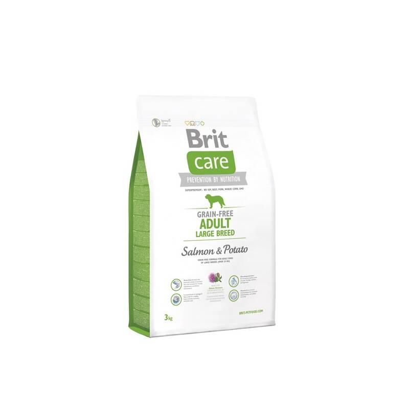Granuly Brit Care Grain-free Adult Large Breed Salmon & Potato 3 kg