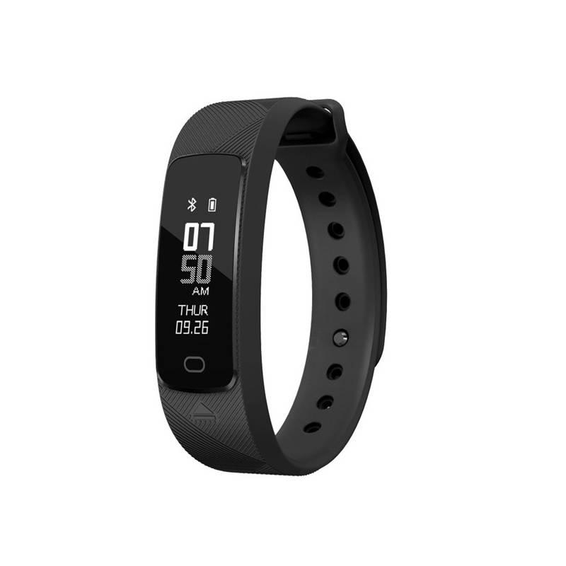 Fitness náramok Evolveo FITBAND B2 pro měření krevního tlaku a tepové frekvence (FTD-B2) čierny