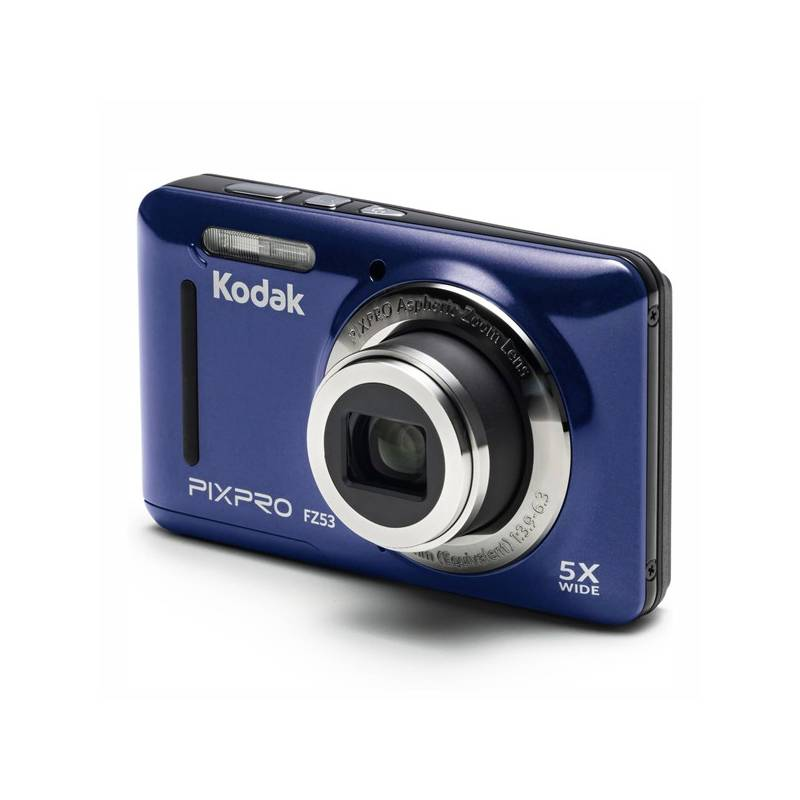 Digitálny fotoaparát Kodak Friendly Zoom FZ53 (819900012583) modrý